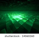 Cyber Kryptonite Glow   Fracta...