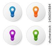 color solar energy panel icon... | Shutterstock .eps vector #1406034884