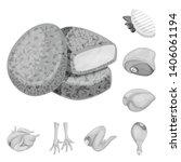 vector design of cuisine and... | Shutterstock .eps vector #1406061194