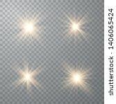 glowing lights effect. star... | Shutterstock .eps vector #1406065424