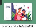 medical insurance template ...   Shutterstock .eps vector #1406166254