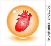 vector heart illustration.... | Shutterstock .eps vector #14061709