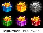gift box in different colors....