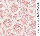 seamless pattern. classic... | Shutterstock .eps vector #1406206661