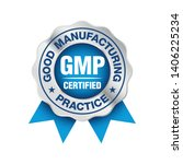 gmp  good manufacturing... | Shutterstock .eps vector #1406225234