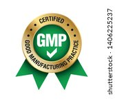 gmp  good manufacturing... | Shutterstock .eps vector #1406225237
