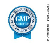 gmp  good manufacturing... | Shutterstock .eps vector #1406225267