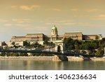 budapest royal palace. ...   Shutterstock . vector #1406236634