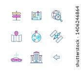 geolocation   modern vector... | Shutterstock .eps vector #1406246864