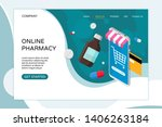 online pharmacy landing page...