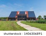 groningen   netherlands  may 23 ... | Shutterstock . vector #1406306891