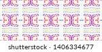 ethnic tie dye print. ikat...   Shutterstock . vector #1406334677