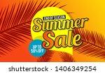 summer sale template banner. ...   Shutterstock .eps vector #1406349254