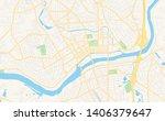 empty vector map of lawrence ... | Shutterstock .eps vector #1406379647