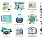 business vector icons...   Shutterstock .eps vector #1406432951