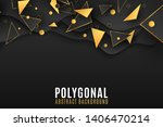 stylish geometric background... | Shutterstock .eps vector #1406470214