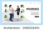 insurance landing page template....