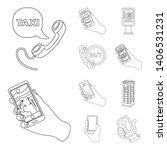 bitmap illustration of phone... | Shutterstock . vector #1406531231