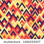seamless abstract ethnic... | Shutterstock .eps vector #1406533547