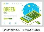 minimal modern concept of... | Shutterstock .eps vector #1406542301
