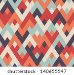 seamless vector geometric... | Shutterstock .eps vector #140655547