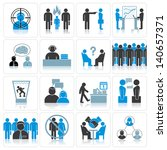 office business icons.... | Shutterstock . vector #140657371