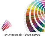 illustration of pantone colors... | Shutterstock . vector #140658901