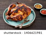 Whole Grilled Chicken With...