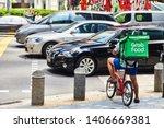 19 march  2019   singapore ... | Shutterstock . vector #1406669381