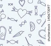 seamless candy | Shutterstock . vector #140673097