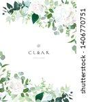 Floral Vector Banner Vertical...