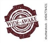 red wide awake rubber grunge... | Shutterstock .eps vector #1406776421