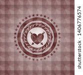 heart with two arrows icon... | Shutterstock .eps vector #1406776574