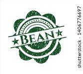 green bean distress rubber... | Shutterstock .eps vector #1406776697