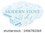 modern stove word cloud.... | Shutterstock .eps vector #1406782364