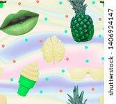Contemporary Zine Art Collage....