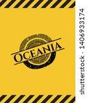 oceania inside warning sign ...   Shutterstock .eps vector #1406933174