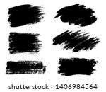 painted grunge stripes set.... | Shutterstock . vector #1406984564