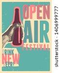 beer open air festival...   Shutterstock .eps vector #1406999777