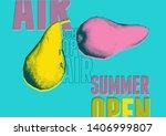 summer open air festival... | Shutterstock .eps vector #1406999807
