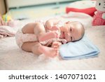 Cute Baby Rolling Time With...
