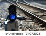 Signal Lamp Where Railway Goes...