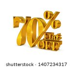 up to 70 percent discount... | Shutterstock . vector #1407234317