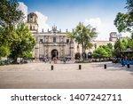 mexico city  mexico   october... | Shutterstock . vector #1407242711