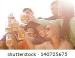 young people in their twenties...   Shutterstock . vector #140725675