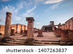 Remains And Ruins Of Ancient...