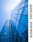 office buildings. modern glass... | Shutterstock . vector #140726539