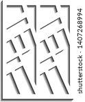 vector of simple background... | Shutterstock .eps vector #1407268994