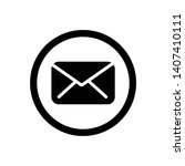 message simple icon symbol... | Shutterstock .eps vector #1407410111