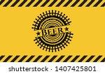 beer inside warning sign  black ...   Shutterstock .eps vector #1407425801